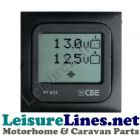 CBE 632 TOUCH DIGITAL TWIN BATTERY VOLT METER 12v